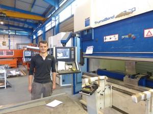 De Luca Industry, découpe laser, Alsace